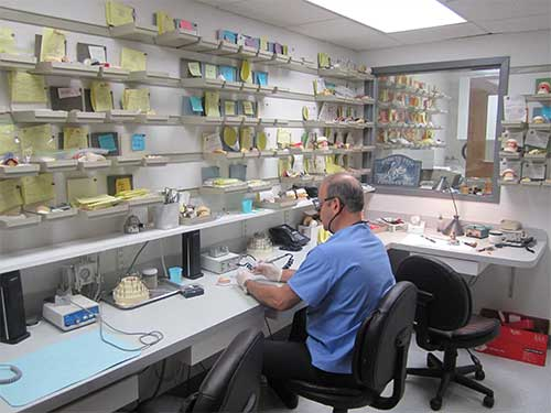 On site Denture Laboratory
